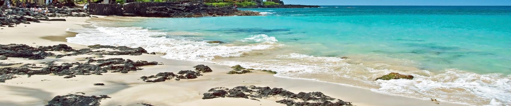 White Sand Beach Island Of Hawaii