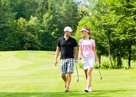 Golfing in Orlando