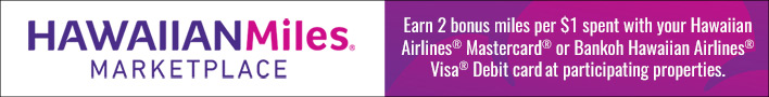 Hawaiian Airlines Double Miles
