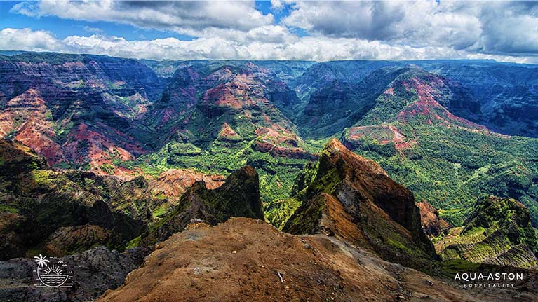 Waimea Canyon Kauai Zoom background