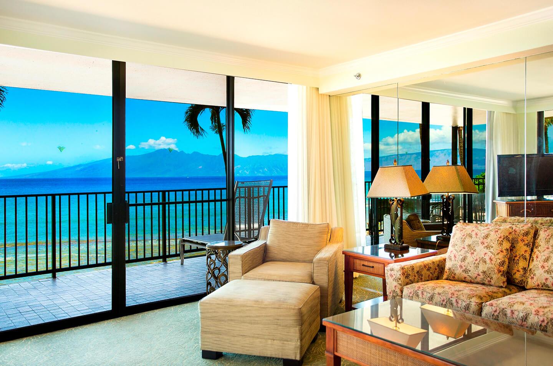 Aston Kaanapali Shores 2 Bedroom 2 Bath Oceanfront Aloha Suite