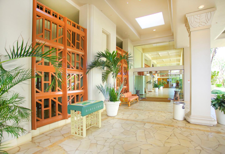Aston Kaanapali Shores Lobby