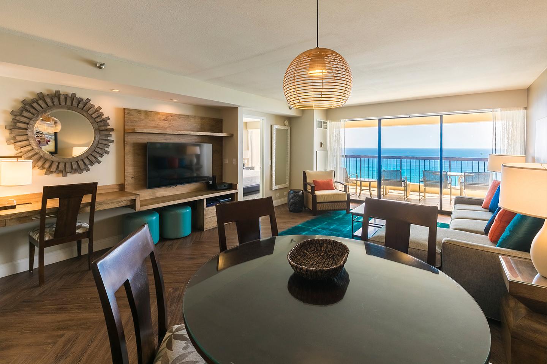 2 bedroom penthouse deluxe - 2 bedroom suites in waikiki beach ...