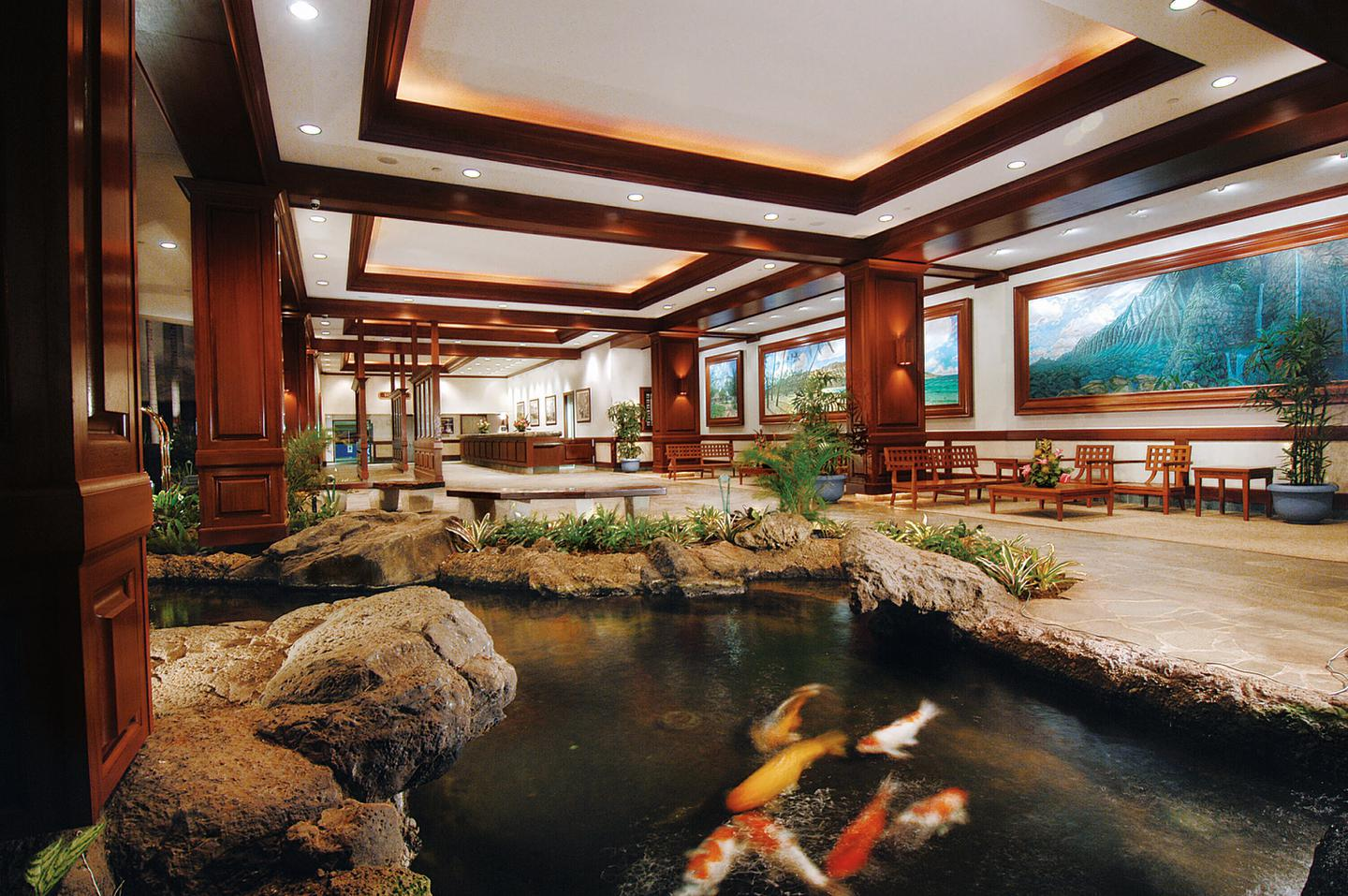 Waikiki Family Hotel Aston At The Banyan Aqua Hotels Running Electric Power To A Garage Or Garden Pond Learn About Code