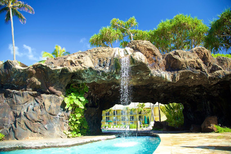 Aqua Kauai Beach Resort Waterfall Grotto