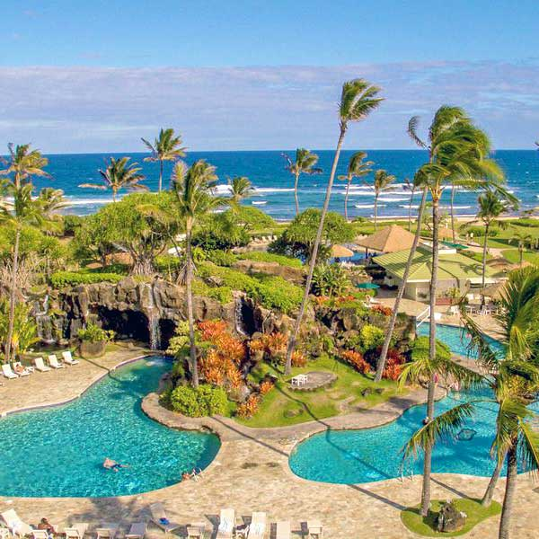 Kauai Hotels And Travel Guide Aqua Aston Hotels