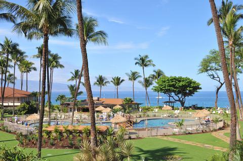 Maui Kaanapali Villas Pool Area