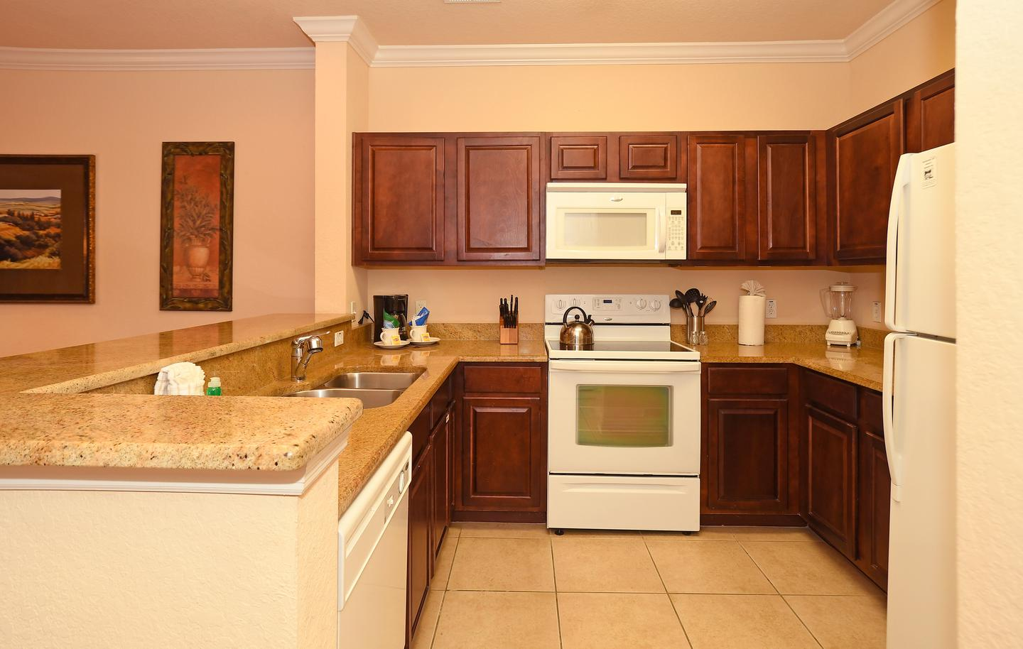 Tuscana Resort Orlando Kitchen 1440x914