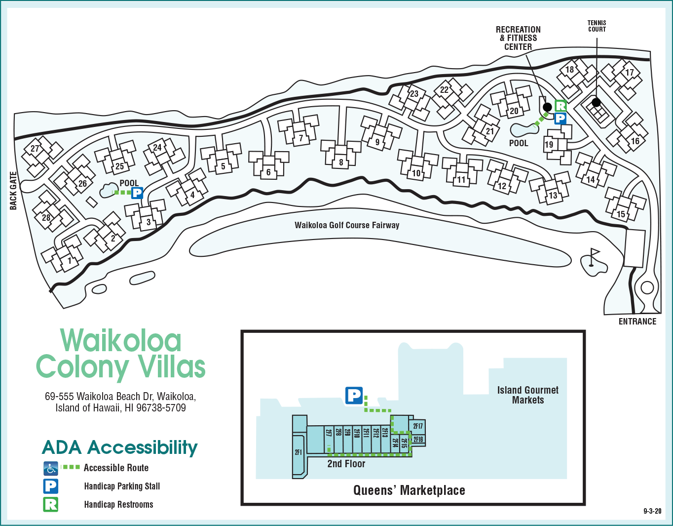 Accessibility Map