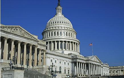 米国の議事堂の建物