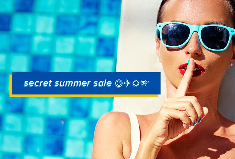 Secret Summer Sale
