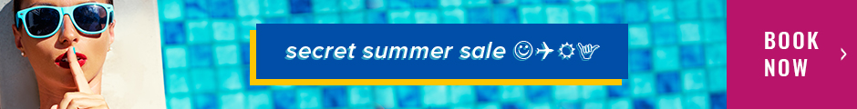 Secret Summer Sale - Save up to 20% - Book Now