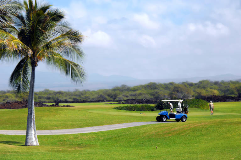 Big Island Hawaii Golf Course